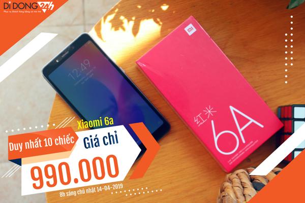 Giảm giá ngay - Quà trao tay: 10 chiếc Xiaomi Redmi 6A chỉ 990.000đ tại Hải Phòng ảnh 9
