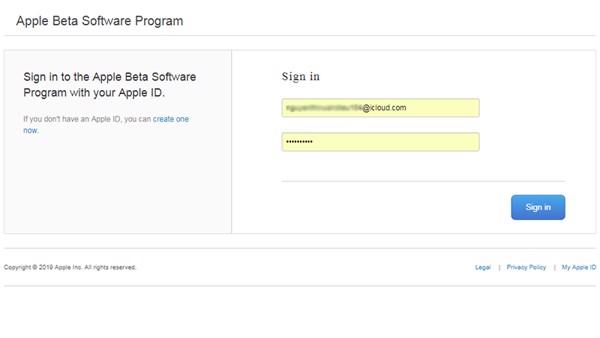 di động v24h Hướng dẫn đăng ký chương trình BETA để được cập nhật sớm iOS 13 ảnh 3