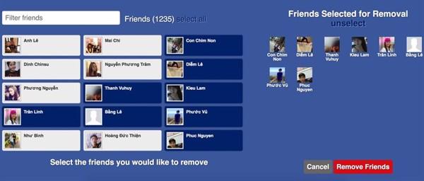 di động v24h Cách xoá bạn bè ít tương tác trên Facebook trong một nốt nhạc ảnh 5