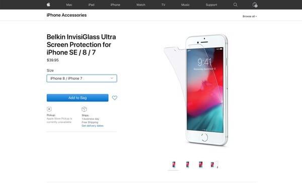 iPhone SE 2020 có 3 màu sắc Đỏ, Trắng và Đen, bộ nhớ từ 64GB đến 256GB ảnh 2
