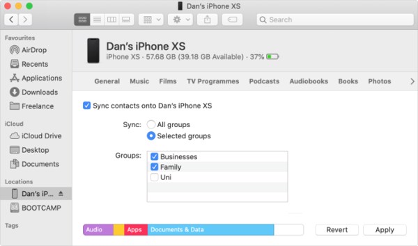 di động v24h Cách chuyển danh bạ từ iPhone này sang iPhone khác ảnh 2