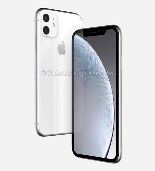 iPhone XR 2019 lộ ảnh render đầu tiên với cụm camera kép to và lồi, màn hình LCD viền dày như đời đầu ảnh 2