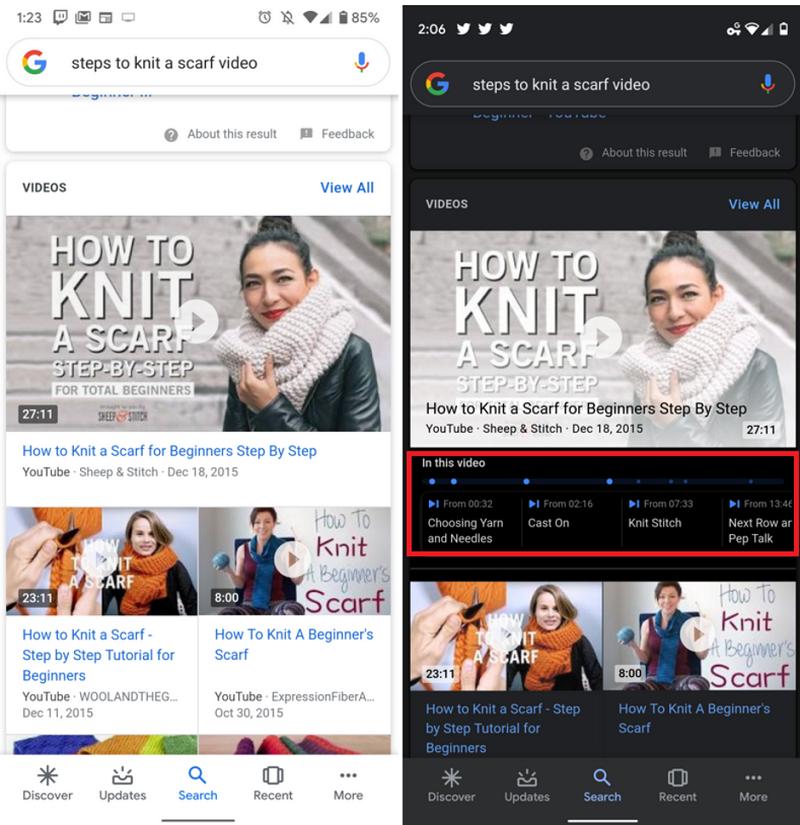 Google Search có thể tìm kiếm nội dung ngay cả trong video ảnh 2