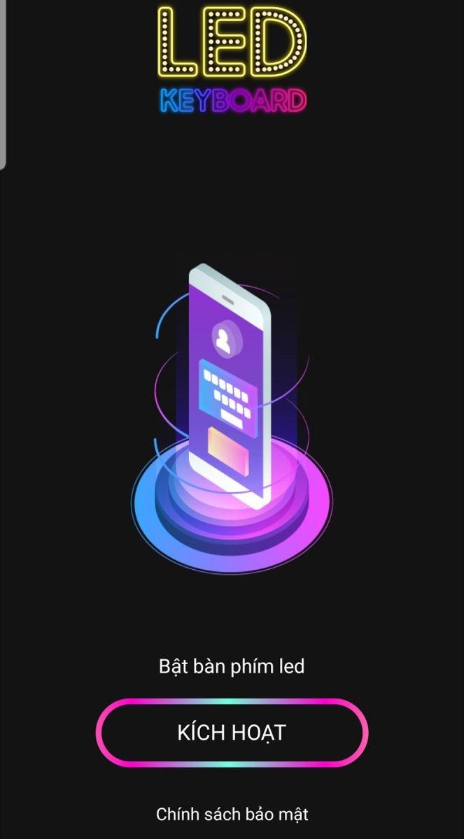 """di động v24h Hướng dẫn độ bàn phím đèn LED RGB cho Android """"cực ngầu"""" ảnh 4"""