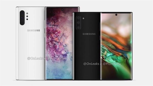 Thêm hình ảnh xác nhận thiết kế của Galaxy Note 10 ảnh 1