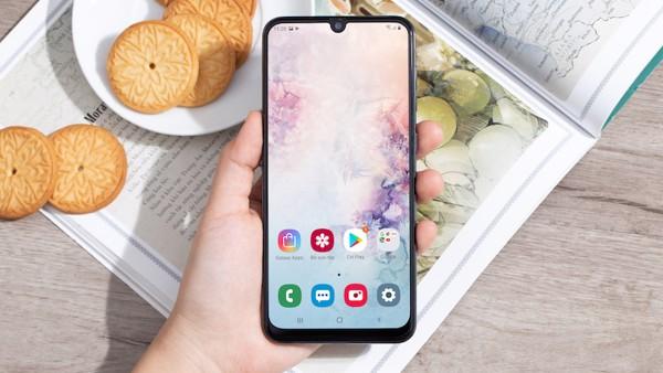 Samsung Galaxy A50 bảo mật