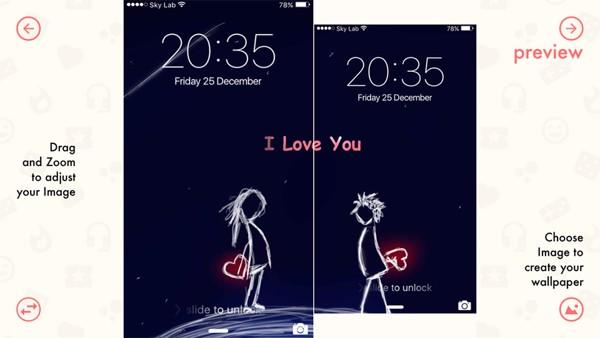 di động v24h Tạo ảnh nền đôi độc đáo trên điện thoại (Android/iOS) cho bạn và người yêu ảnh 6