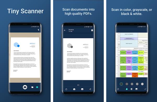 di động v24h 5 Ứng dụng scan tài liệu tốt nhất dành cho smartphone Android ảnh 3