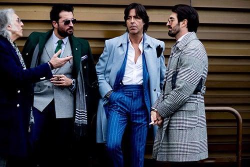 phong cách ăn mặc của đàn ông Ý