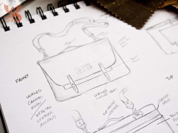 quy trình sản xuất túi da