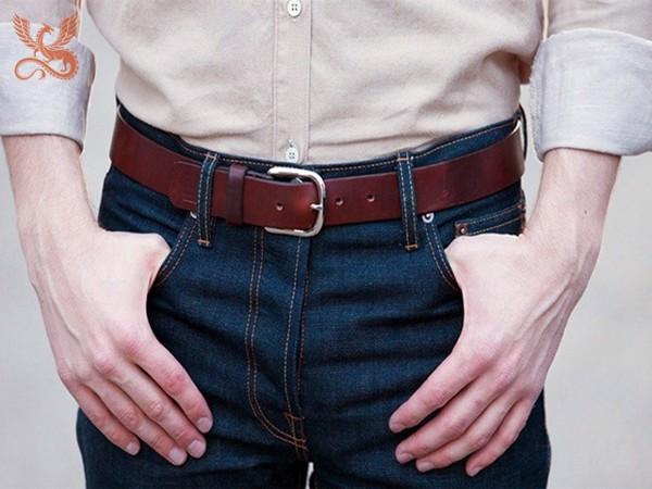 cách chọn thắt lưng thời trang