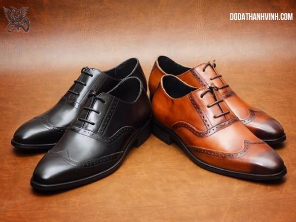 tiêu chí quyết định giày da cao cấp