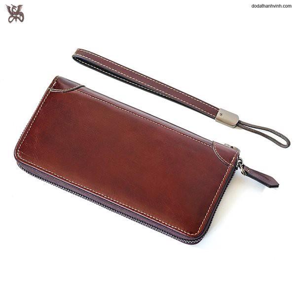 ví da dài cầm tay