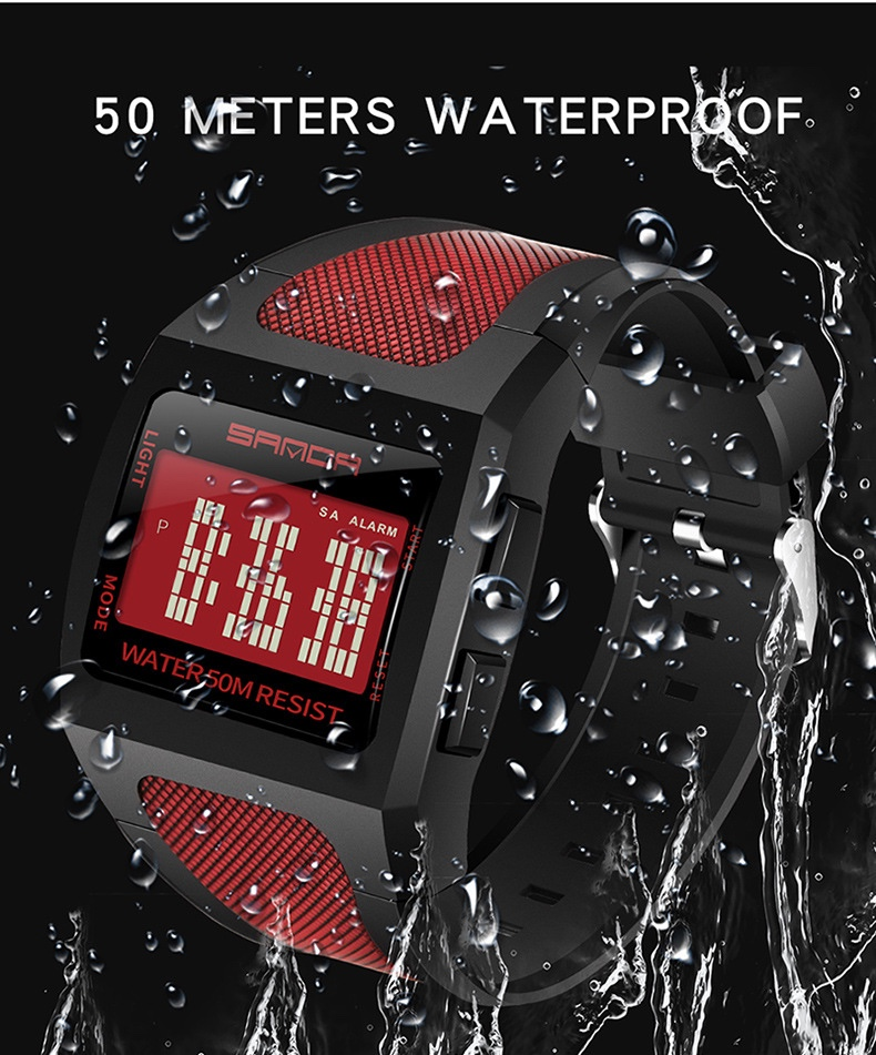 sanda sport watch 222 original digital watch