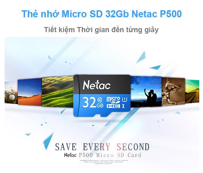 Thẻ nhớ MicroSD 32GB cho Camera quan sát