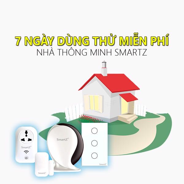Trải Nghiệm Nhà Thông Minh SmartZ Hoàn Toàn Miễn Phí 7 Ngày