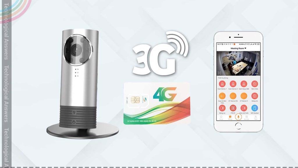 Báo giá sỉ Camera dùng sim 3G 4G, giải pháp tăng lợi nhuận của bạn