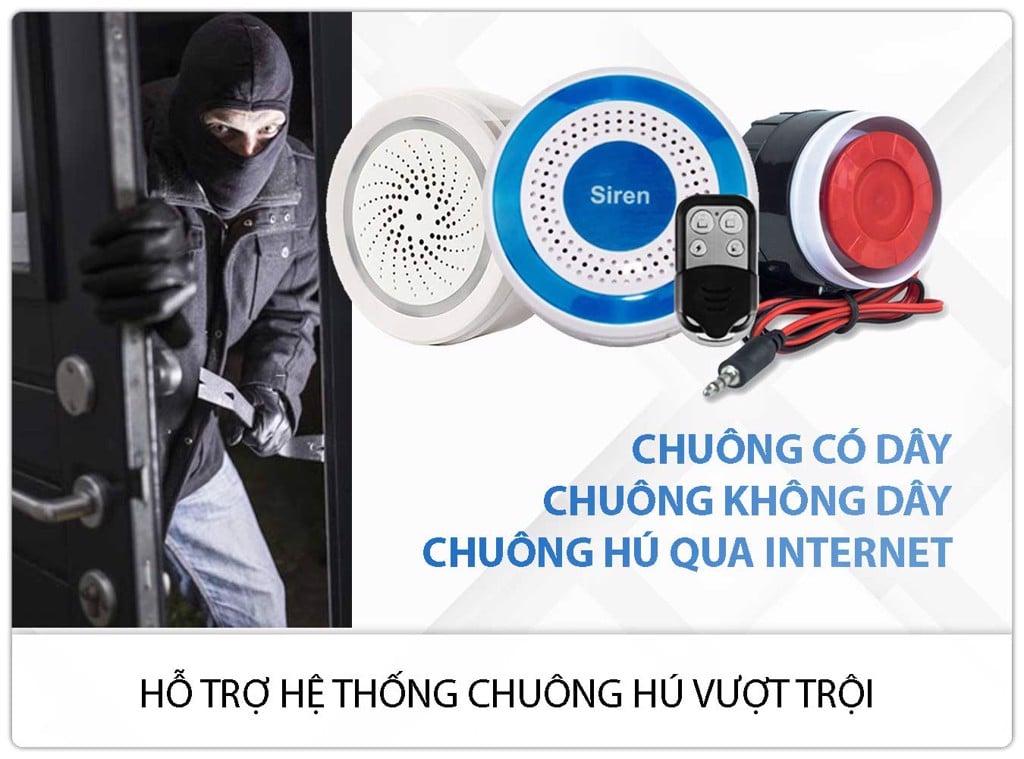 Thiết Bị Chống Trộm Dùng SIM + WIFI GP05W Báo Qua Điện Thoại