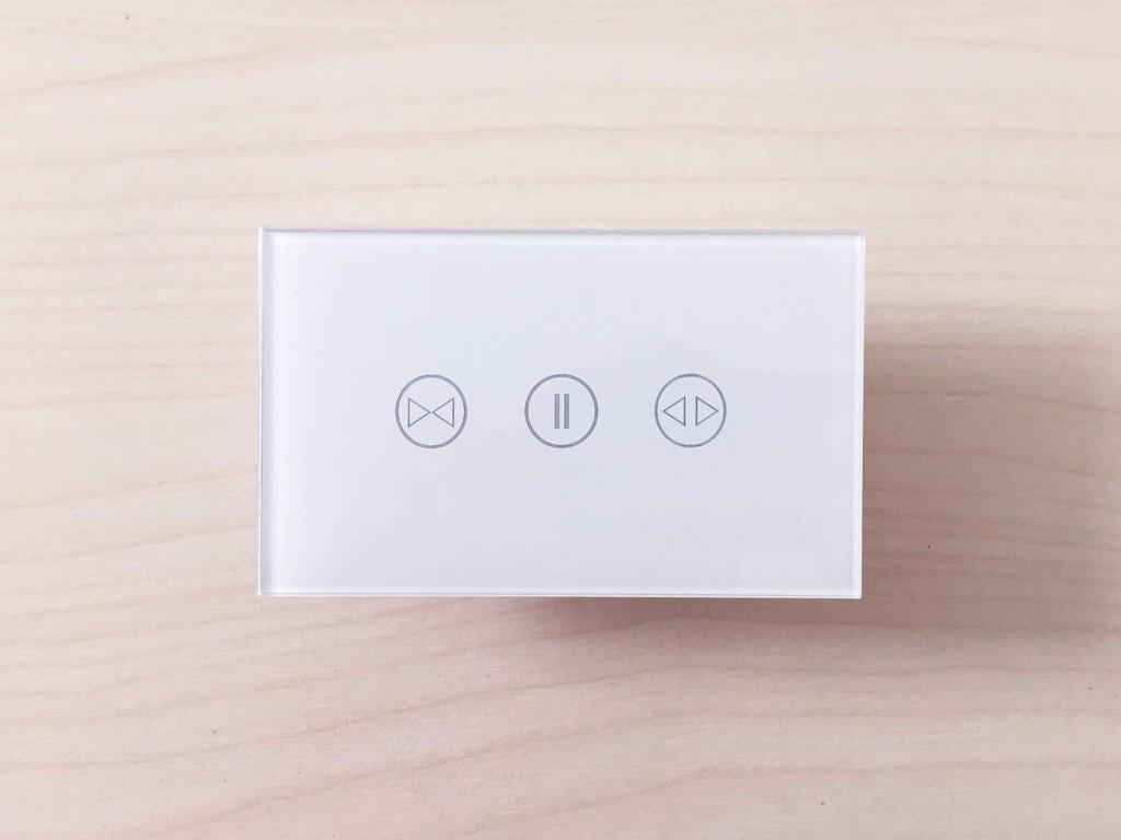 Công Tắc Rèm Cửa Thông Minh Wifi SmartZ WSC Mặt Kính Cảm Ứng