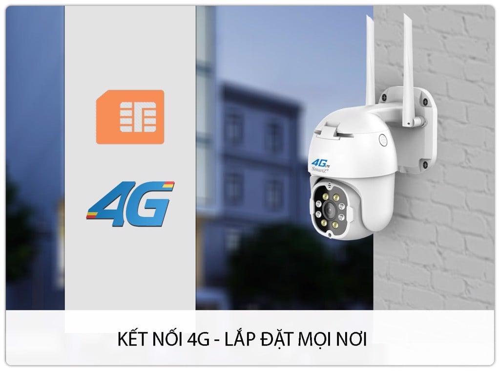 Camera dùng SIM 4G Ngoài trời Speed dome