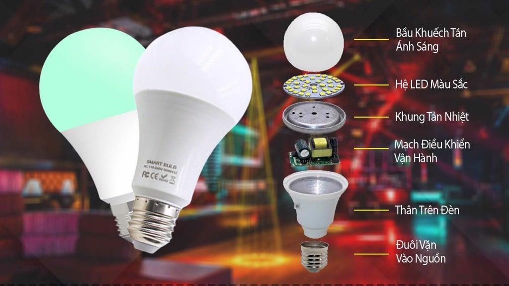 Đèn LED Buld đổi màu thông minh