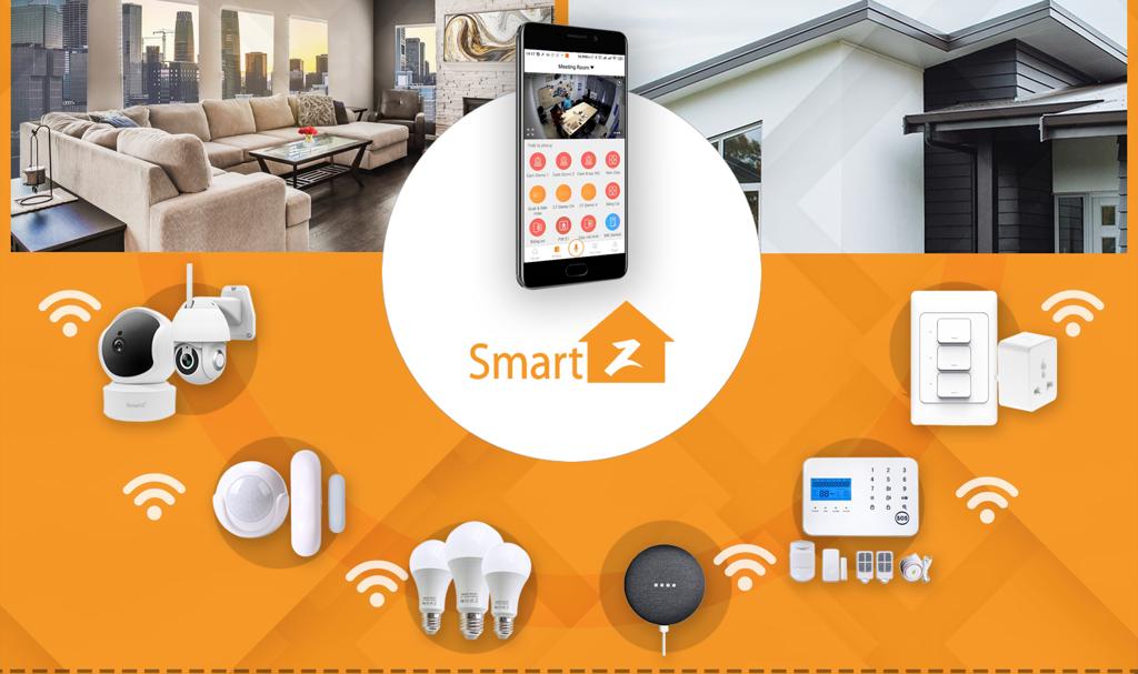 Nhà thông minh SmartZ PM ứng dụng công nghệ Tuya smart