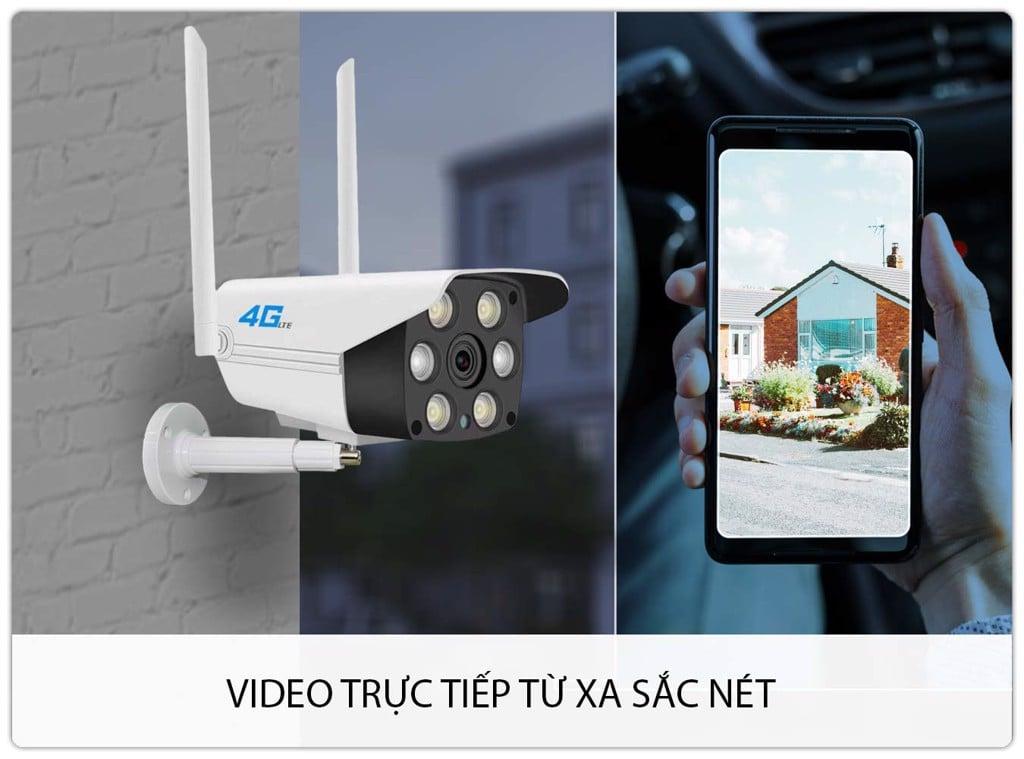 Camera 4G Ngoài Trời SmartZ IS10 FullHD 1080P Xem Đêm Màu Sắc
