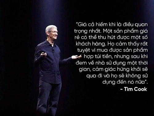 Những câu nói hay của nhà lãnh đạo Apple