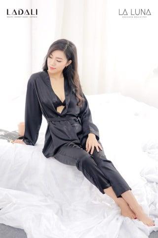 Bộ Ngủ Pijama Lụa Cao Cấp