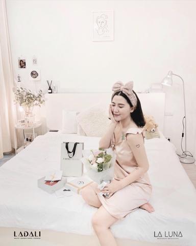 Hot mom Loan Hoàng (Heo Mi Nhon) khách hàng trung thành của sản phẩm đồ lót, đồ ngủ Ladali