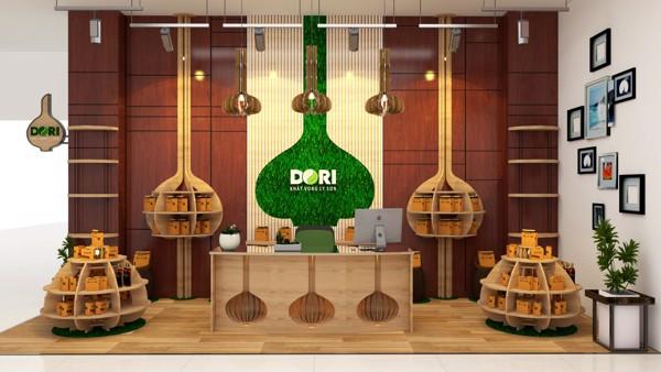 Cửa hàng Đặc sản tỏi đen, rượu tỏi đen Dori tại Tp. Quảng Ngãi
