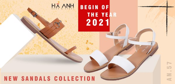 NEW SANDALS COLLECTION - BEGIN OF THE YEAR