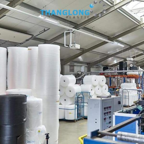 nhà máy sản xuất cuộn xốp hơi thang long