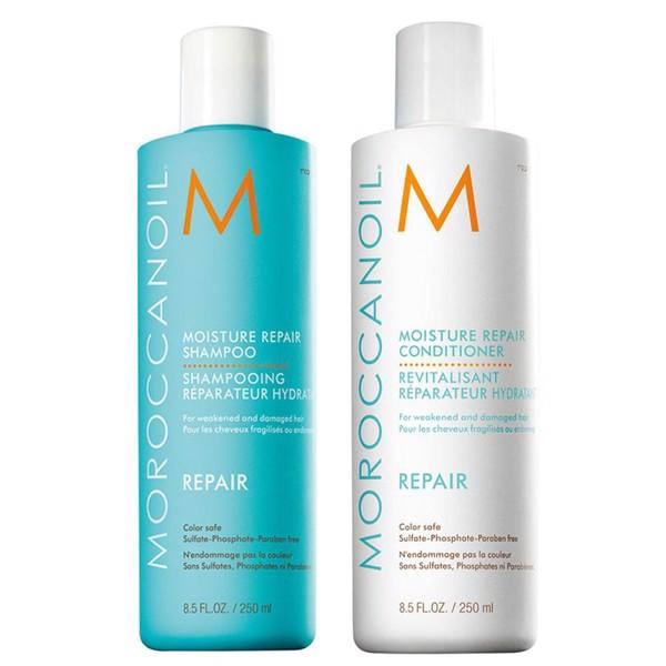 Dầu gội Moroccanoil phục hồi độ ẩm giúp tóc giữ ẩm mềm mượt