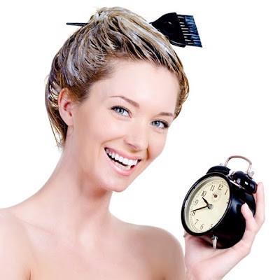 ủ tóc tại nhà bằng dầu gội Tigi số 3