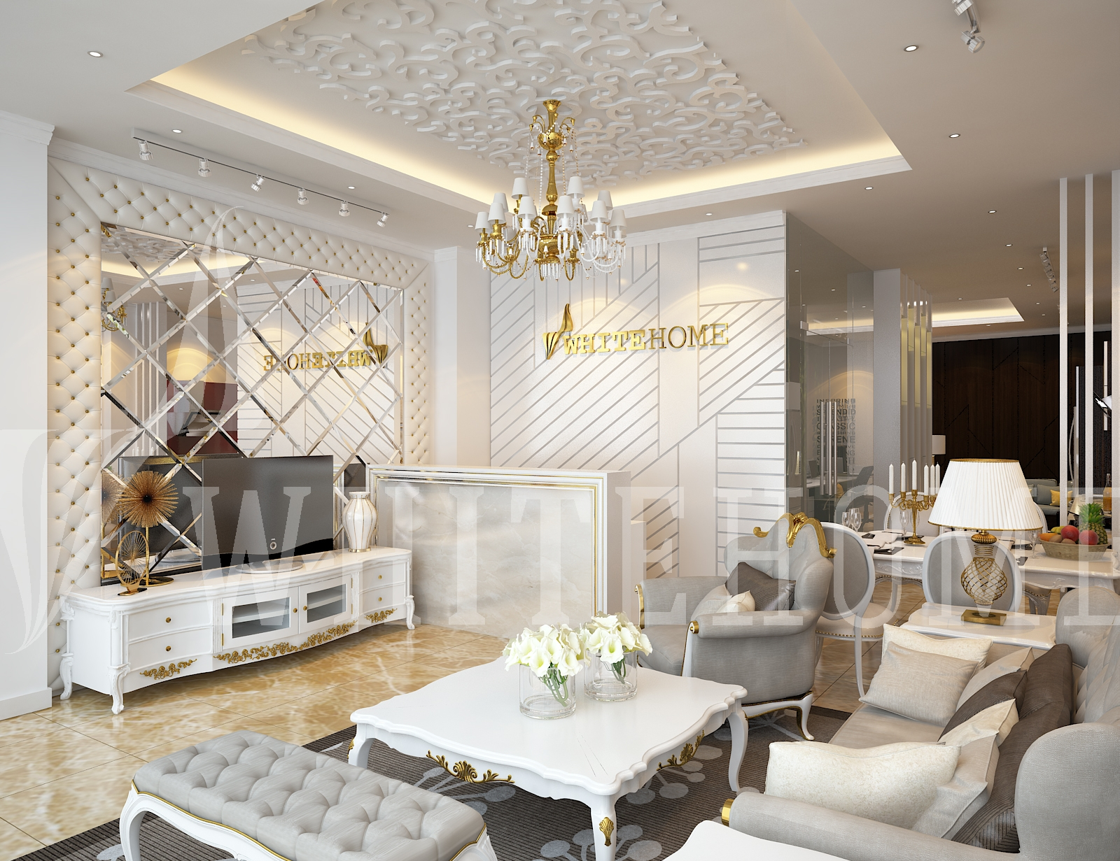 White Home - Showroom nội thất