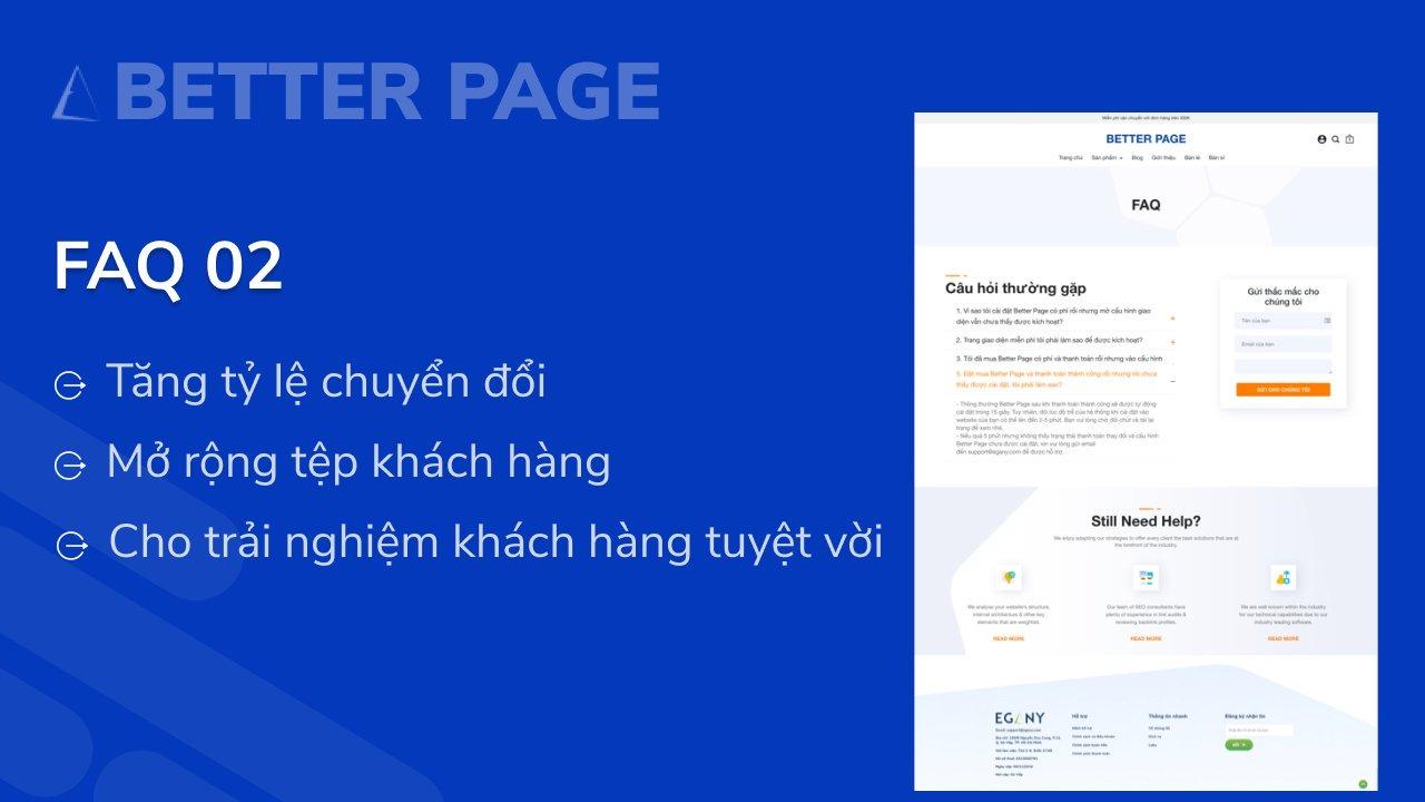Hướng dẫn cài đặt FAQ 02