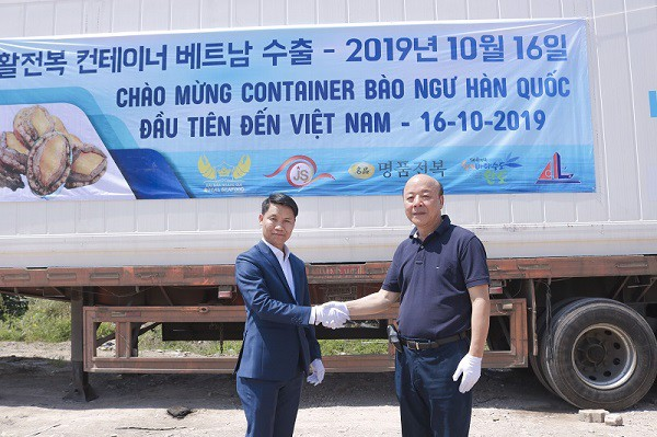 bao ngu song han quoc nuoi tru trong container nuoc