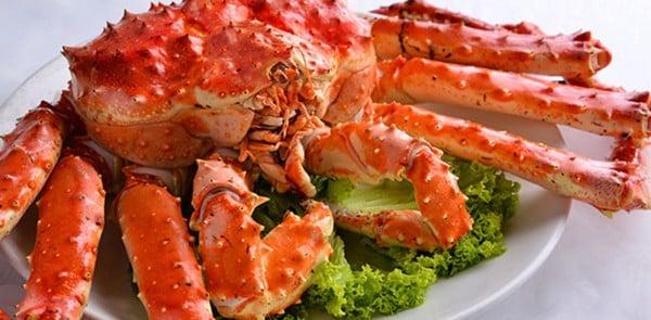 cua hoang de cua alaska king crab hai san hoang gia