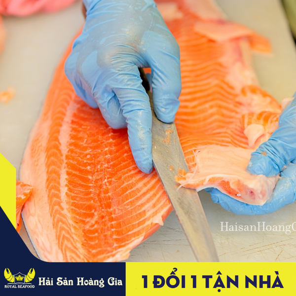 Cá hồi Nauy rất tốt cho sức khỏe người cao tuổi