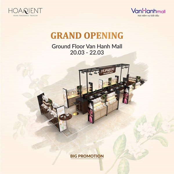 HOARIENT IS COMING UP TO VAN HANH MALL!