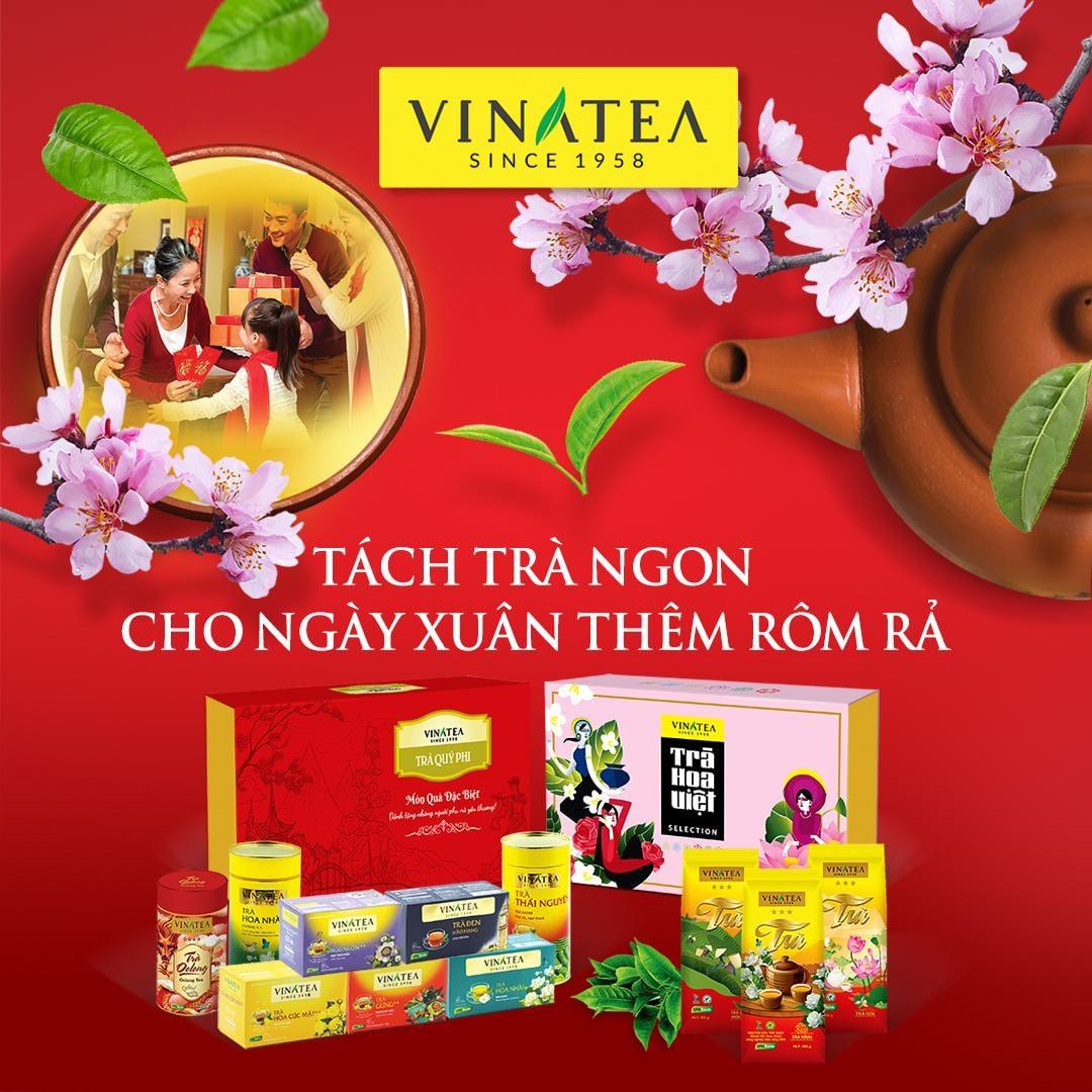 Vinatea: Món quà đậm sâu, ấm tình ngày Tết