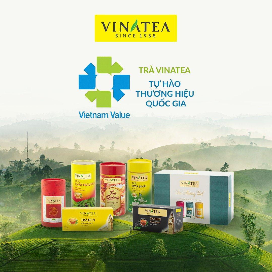 VINATEA - TỰ HÀO THƯƠNG HIỆU QUỐC GIA VIỆT NAM 2020