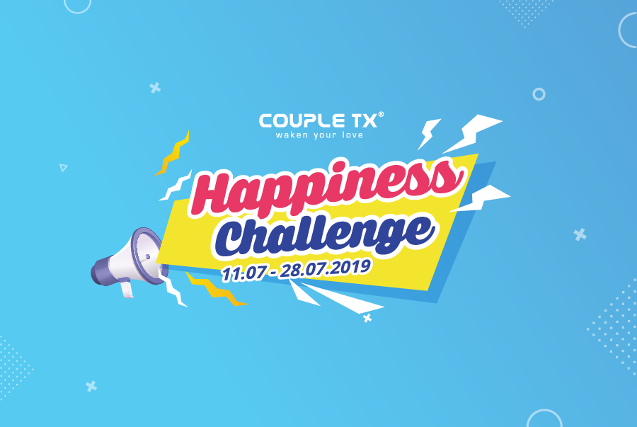 THỬ THÁCH HAPPINESSCHALLENGE CÙNG COUPLE TX!