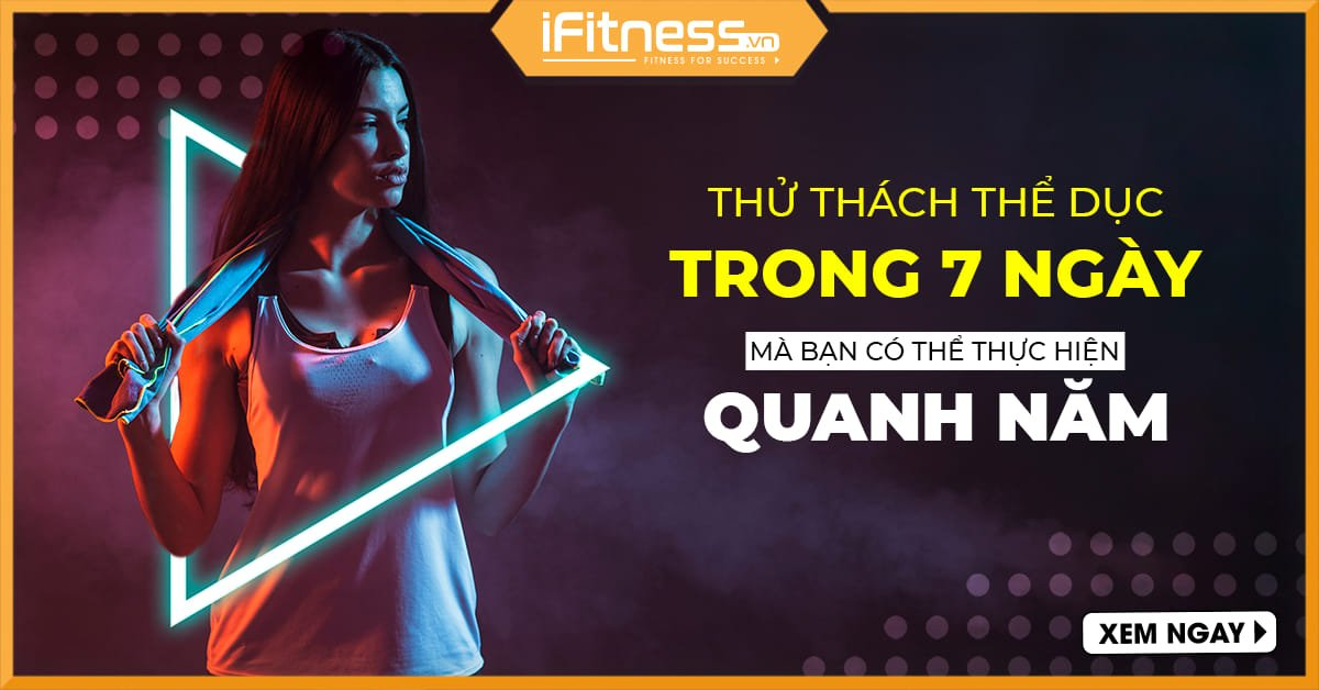 thu thach 7 ngay the duc