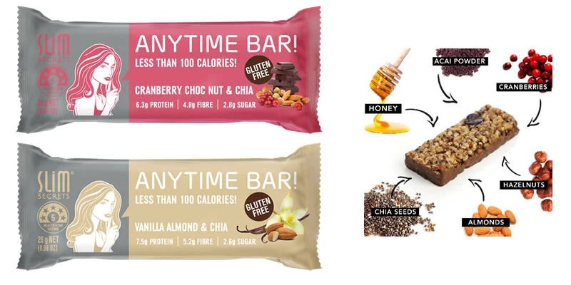 Slim Secrets Anytime Bars
