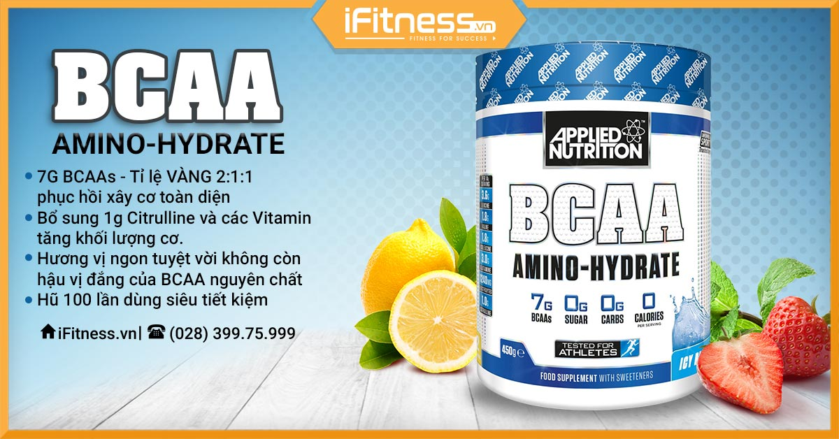 applied nutritions bcaa amino hydrate