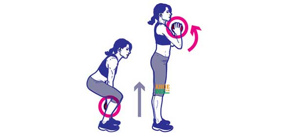 Plie Squat and Arm Curl