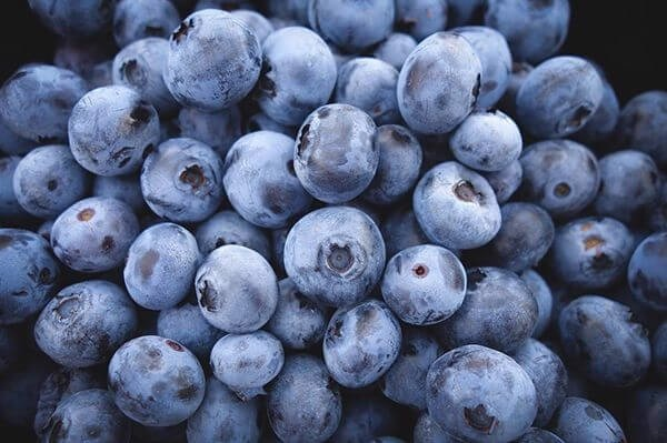 thuc pham giam can blueberries