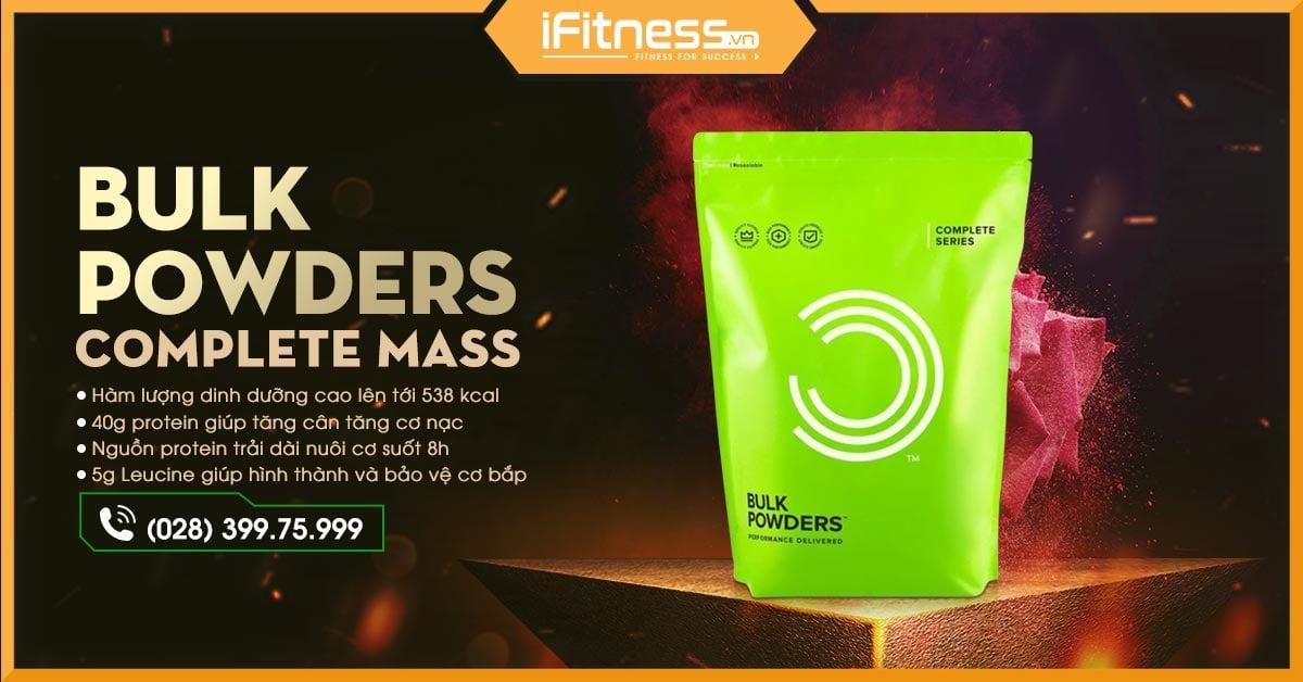 Bulk Powders Complete Mass 2.5kg